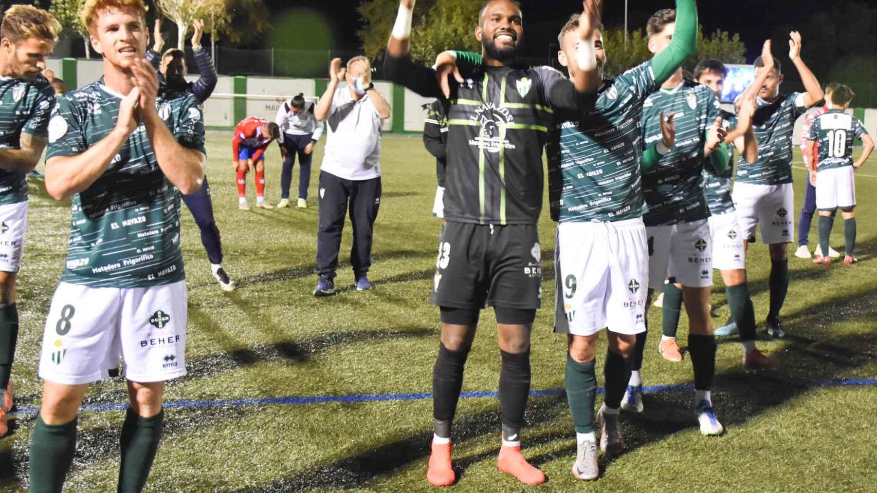 Imágenes del partido de Copa RFEF entre el CD Guijuelo y el CDA Navalcarnero