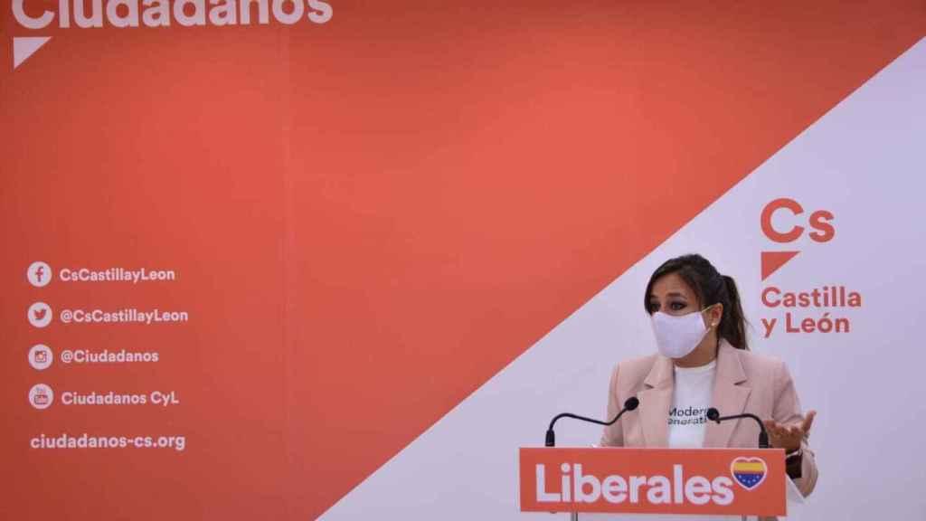 Gemma Villarroel, coordinadora autonómica de Ciudadanos en Castilla y León