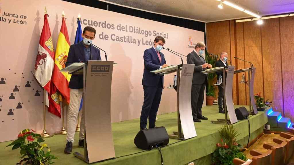 Acuerdos del Diálogo Social en Castilla y León