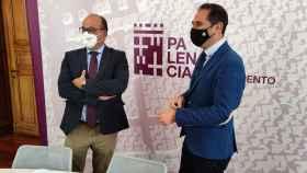 Luis Miguel Cárcel junto a Mario Simón