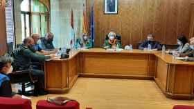 Reunión de la Junta de Seguridad Ciudadana de Alba de Tormes