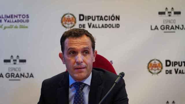Conrado Íscar, presidente de la Diputación y del PP de Valladolid