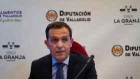 Conrado Íscar, presidente del PP de Valladolid