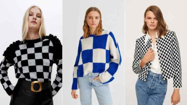 Siete piezas de estampado damero para conseguir un 'look trendy'