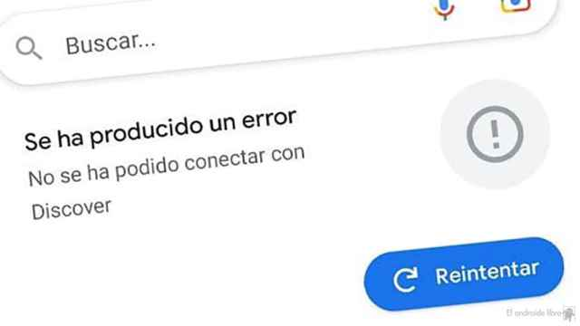 Google Discover no funciona: el servicio de la compañía está caído
