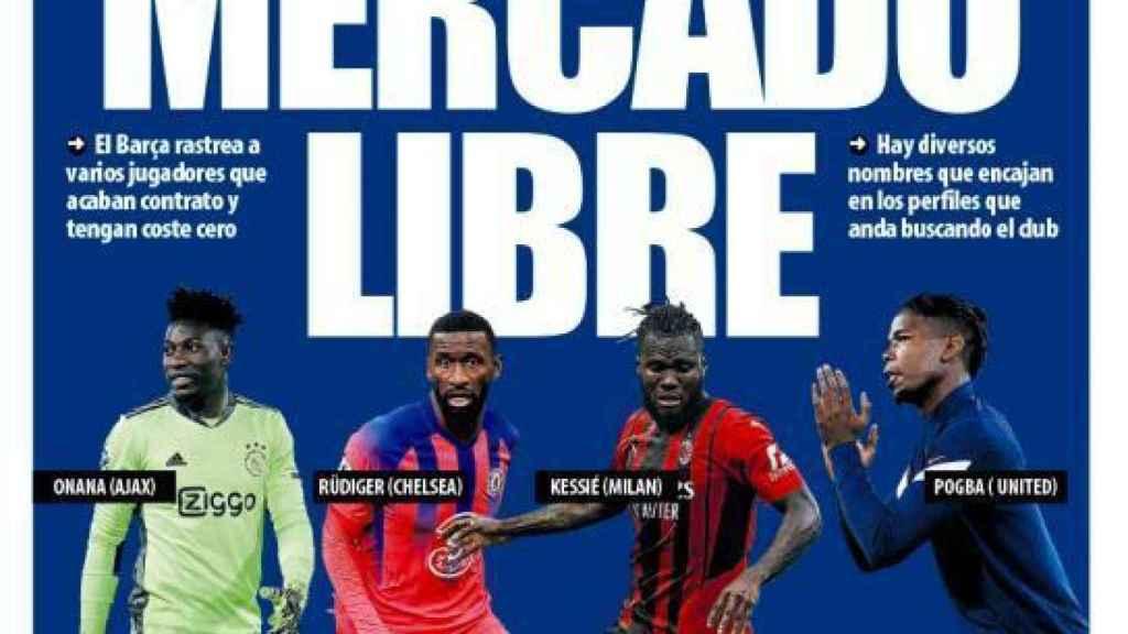 Portada Mundo Deportivo (13/10/21)