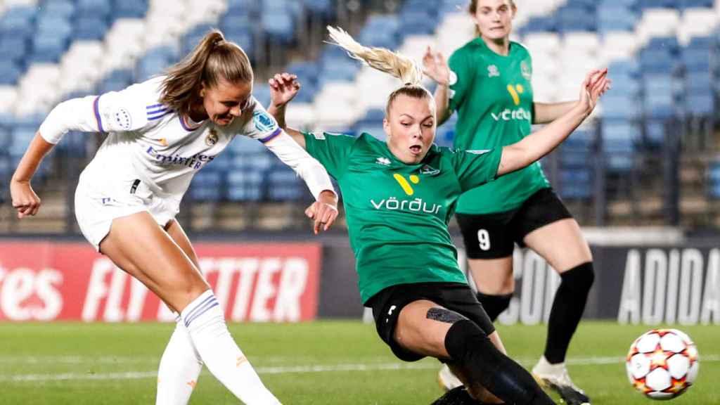 Gol de Caroline Moller en el Real Madrid Femenino - Breidablik