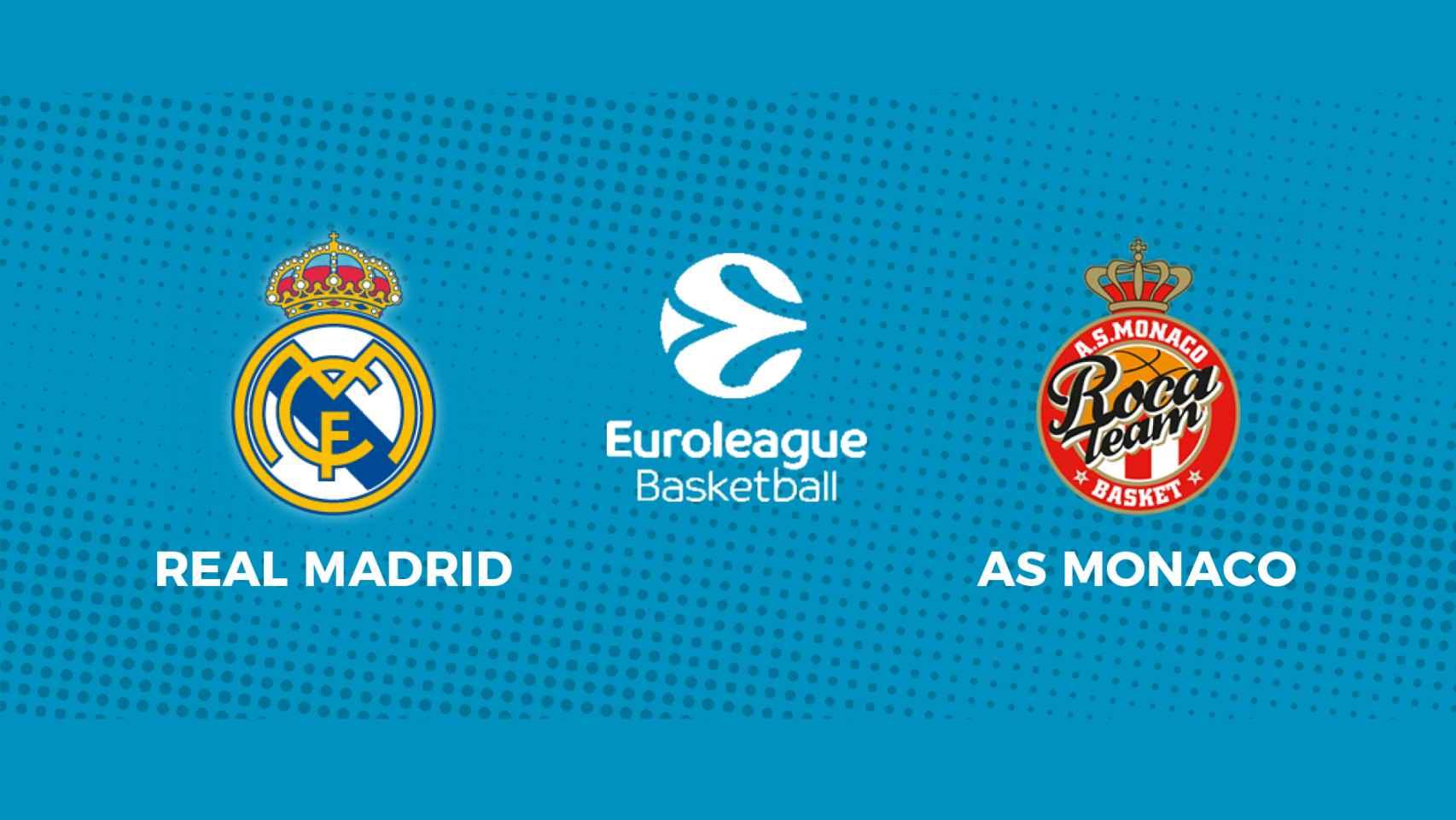 Real Madrid - Mónaco: siga en directo el partido de la Euroliga