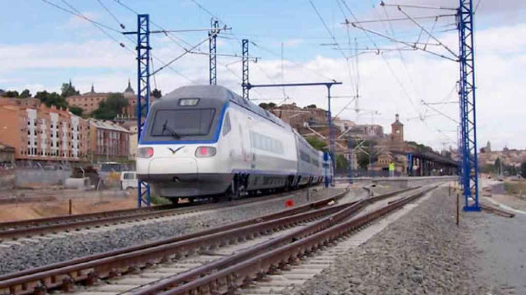 AVE Madrid-Toledo. Imagen de archivo