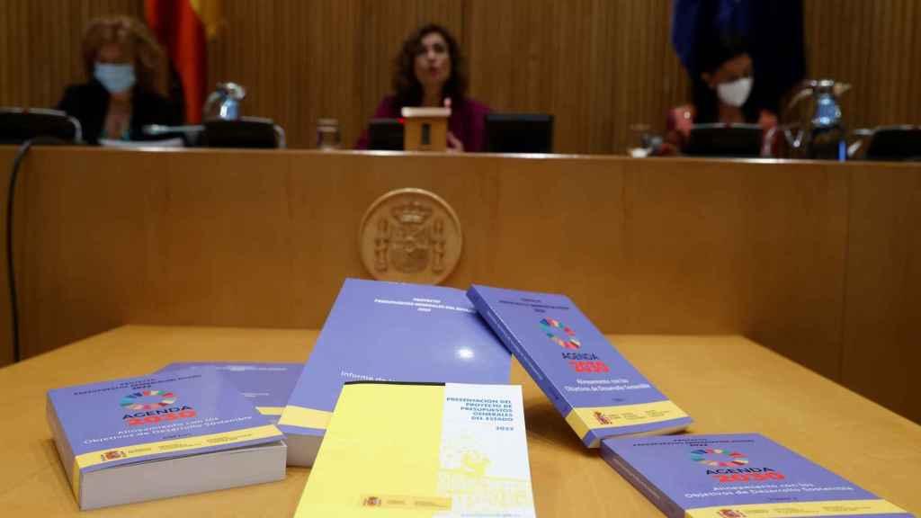 Presentación de los Presupuestos Generales del Estado y los informes de alineamiento con los ODS.