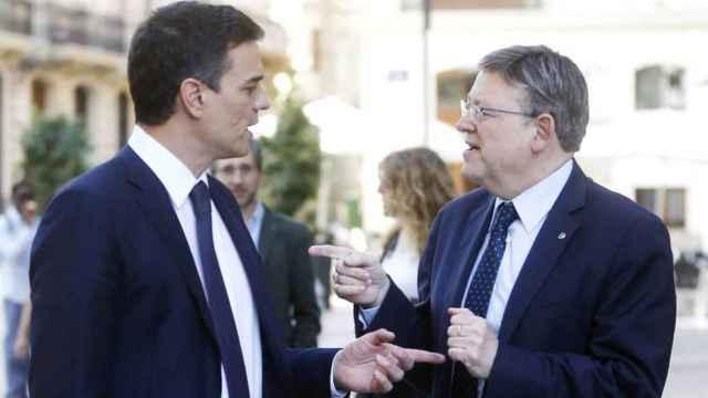 Pedro Sánchez y Ximo Puig, en una imagen de archivo. EFE