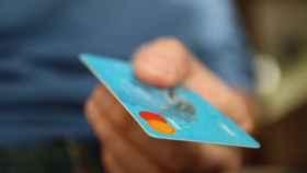 Tarjeta de crédito.