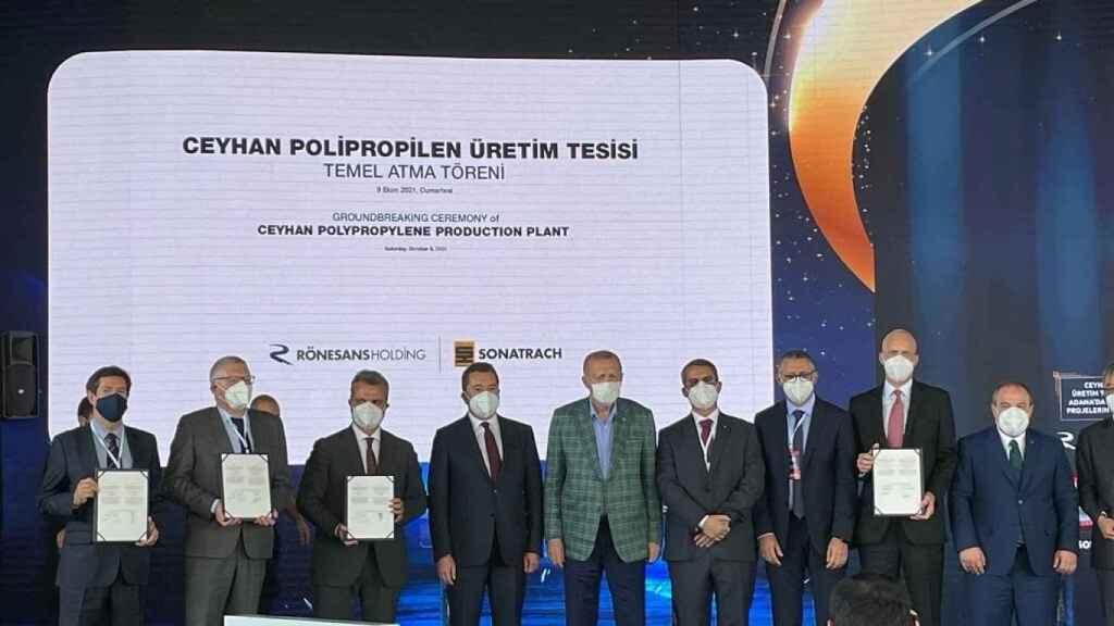 Técnicas Reunidas arranca la construcción de un complejo petroquímico en Turquía de 1.000 millones de euros
