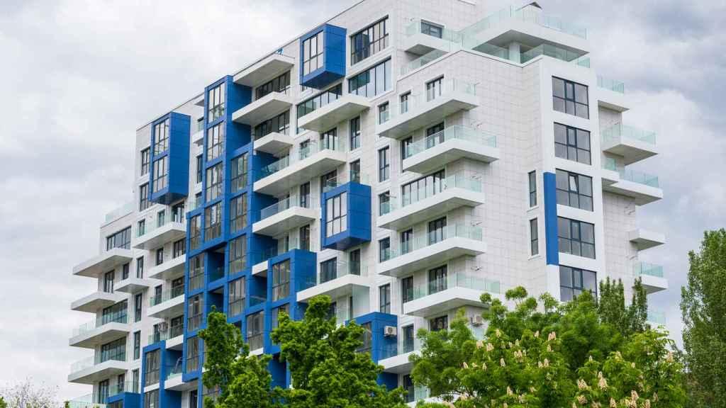 Edificio construido bajo la fórmula 'build to rent'.