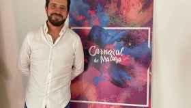 Miguel Gutiérrez, el pregonero del Carnaval de Málaga 2022.