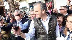 El secretario general de Vox, Francisco Javier Ortega Smith, en un acto en Castellón.