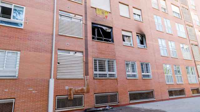 La vivienda incendiada / ICAL