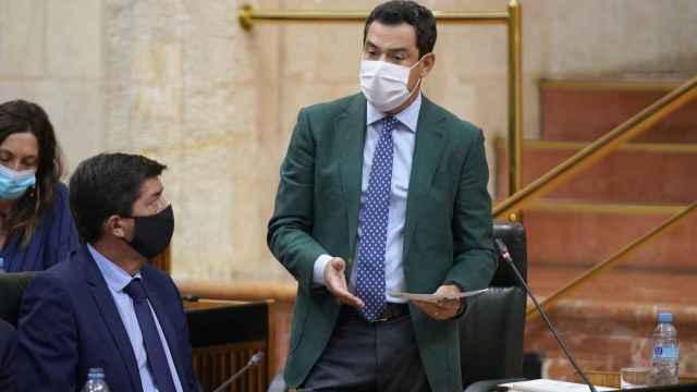 Moreno anuncia que el borrador del presupuesto contará con mil millones de euros más para Sanidad