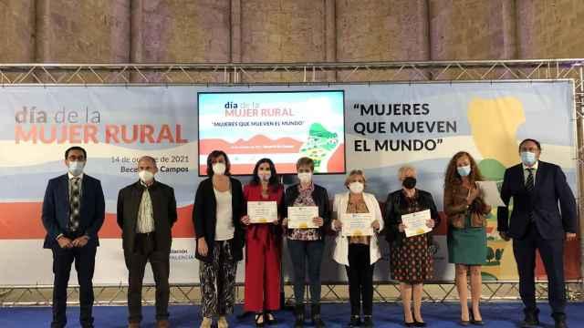 Celebración del Día de la Mujer Rural en la localidad palentina de Becerril. - DIPUTACIÓN DE PALENCIA