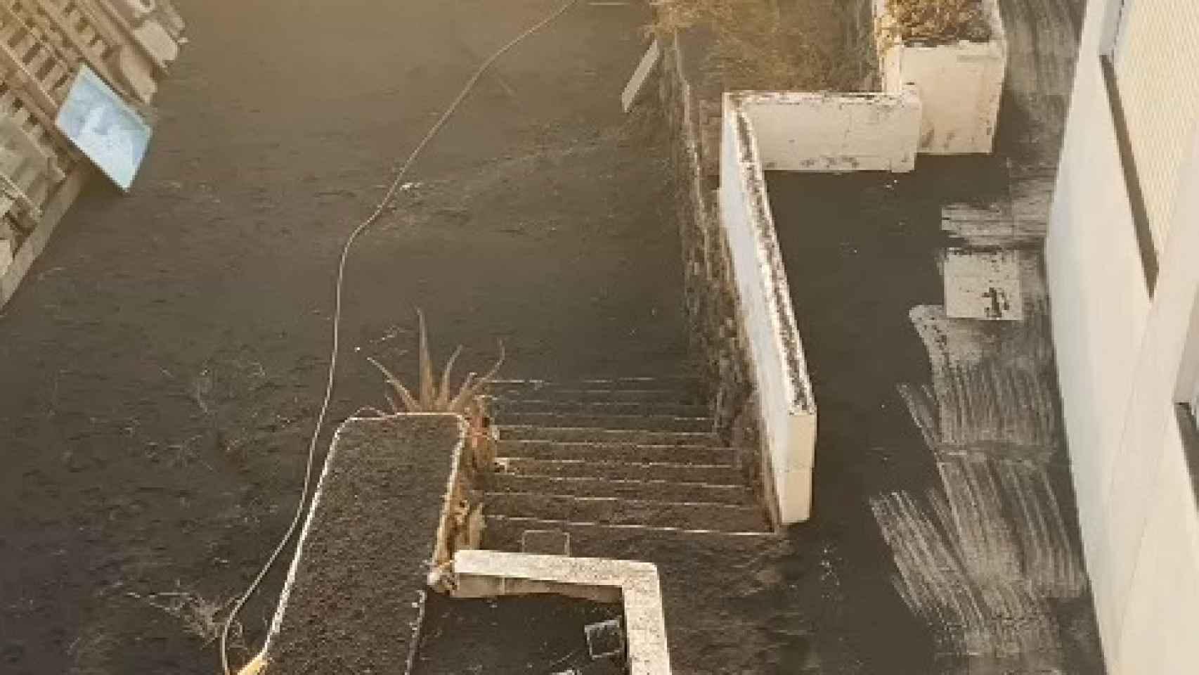 Vistas desde la casa donde estaba Álvaro.