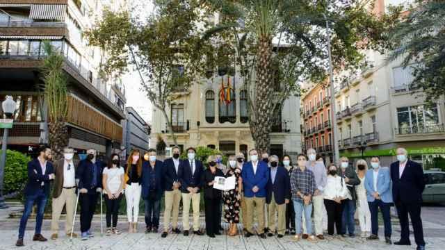 El alcalde Luis Barcala pide a la Generalitat que demuestre la voluntad por invertir en Alicante.