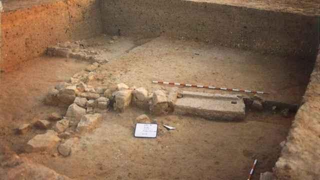 Ejemplo de los años 90 de las excavaciones en este yacimiento ibérico de Alicante protegido como BIC.