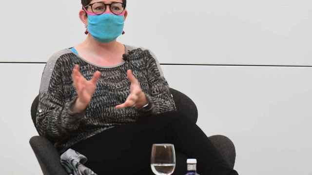 La investigadora científica Rebecca Wragg Sykes