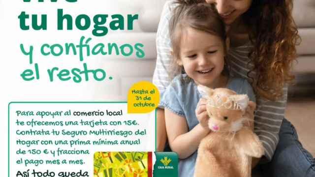 Cartel de la campaña de apoyo al comercio local