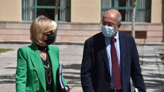 Verónica Casado y Francisco Igea