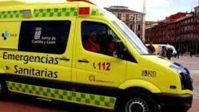 Imagen de archivo de una ambulancia del 112
