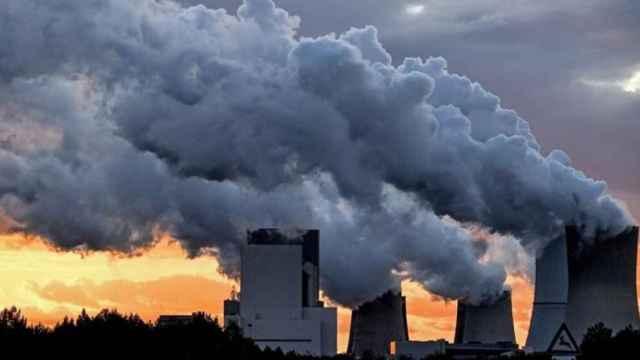 Emisiones de CO2 a la atmósfera.