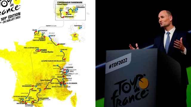 Presentación del Tour de Francia 2022