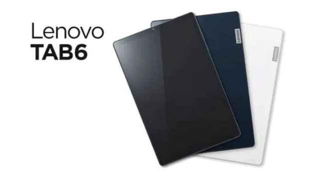 Nueva Lenovo TAB6: una tablet sencilla con 5G