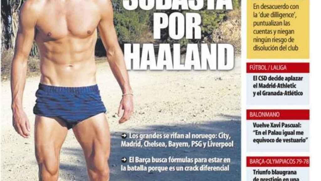 Portada Mundo Deportivo (14/10/21)