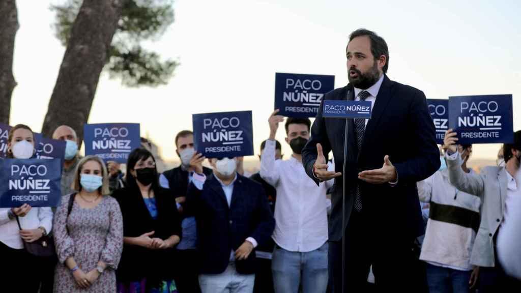 Paco Núñez presenta su candidatura a la reelección como presidente del PP de Castilla-La Mancha