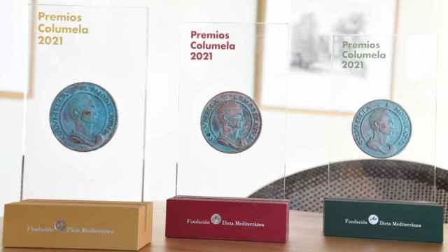 Estatuillas de los Premios Columela 2021
