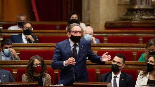 El conseller de Economía de la Generalitat, Jaume Giró, promotor del aval a través del ICF./