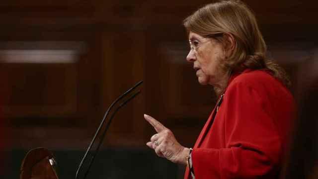 La vicesecretaria sectorial del PP, Elvira Rodríguez, en el Congreso.