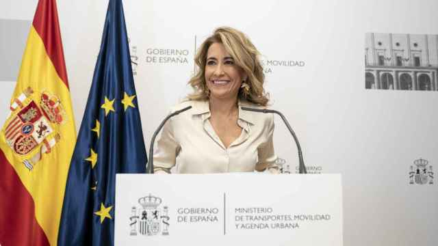 Raquel Sánchez, ministra de Transportes, Movilidad y Agenda Urbana.