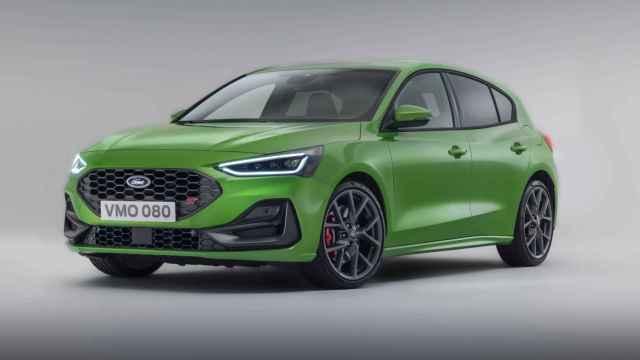 Versión ST del nuevo Ford Focus de 2022.