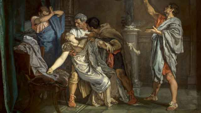 'La muerte de Lucrecia', de Eduardo Rosales.