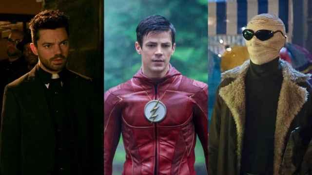 'Preacher', 'The Flash' y 'Doom Patrol', entre las series de DC disponibles en streaming.