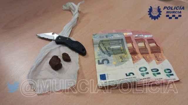 La fotografía que ha compartido la Policía Local de Murcia en su Twitter.