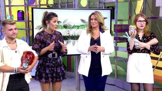 """Nagore Robles carga contra María Patiño: """"No me cae bien y no me gusta como presentadora"""""""
