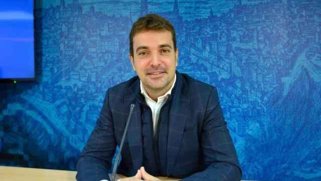 El viceportavoz del equipo de Gobierno del Ayuntamiento de Toledo, Pablo García.