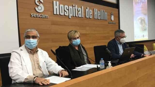 Primera Jornada de Muerte Perinatal que se ha celebrado en el salón de actos del Hospital de Hellín (Albacete).