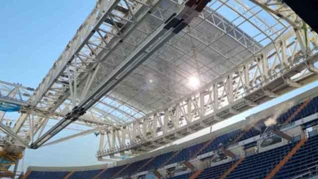 Obras Santiago Bernabéu: