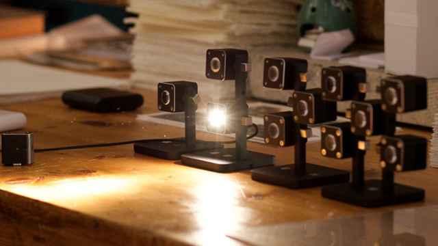 La lámpara italiana.