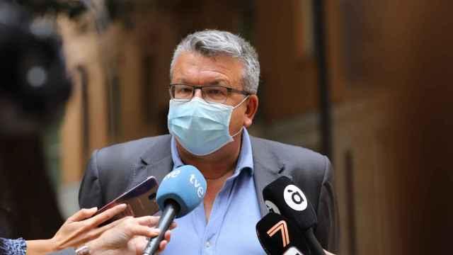El portavoz de Sanidad de Cs en las Cortes, Fernando Llopis.