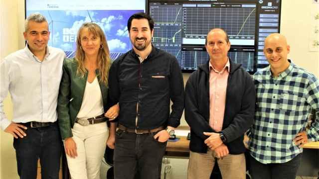Grupo de investigación ERESMA: Alberto González, Ana Díez, Miguel de Simón, Jorge Blanes y Álvaro de la Puente.